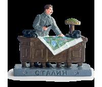 """Солдатик оловянный раскрашенный """"Сталин"""" Серия """"ВОВ"""""""