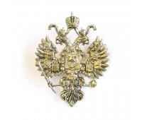 Значок латунный  Герб (1883-1917 ГГ)