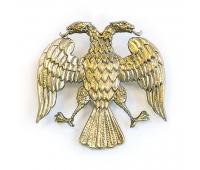 Значок латунный  Герб (1917-1918 ГГ)