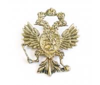 Значок латунный  Герб (1625 ГОД)