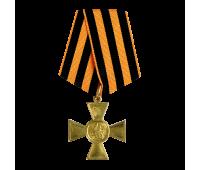 Крест на колодке (муляж), латунь, 88х45 мм