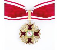 Орден Святого Станислава 2-й степени (копия), латунь, эмаль