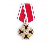 Орден Святого Станислава 3-й степени (копия), латунь, эмаль