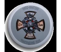 Магнит круглый, d 55 мм,Полковой знак Лейб-гвардии Финляндского полка