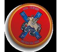 Магнит круглый, d 55 мм,Полковой знак Лейб-гвардии Московского полка