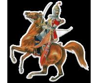 Магнит виниловый фигурный Обер-офицер Собственного Его Императорского Величества Конвоя