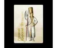 Магнит виниловый прямоугольный Русский Царский Стольник