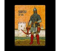 Магнит виниловый прямоугольный Самострел XIV век