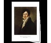 """Постер-картина А3, стандарт. """"Портрет графа А.И. Остерман-Толстого"""".  Пьер Поль Прюдон."""