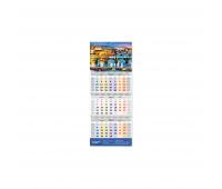 Календарь квартальный настенный - 297x795